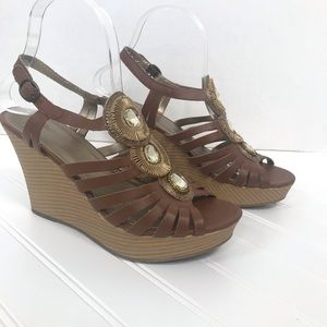 84* Mossimo shoes sz 7.5 wedges